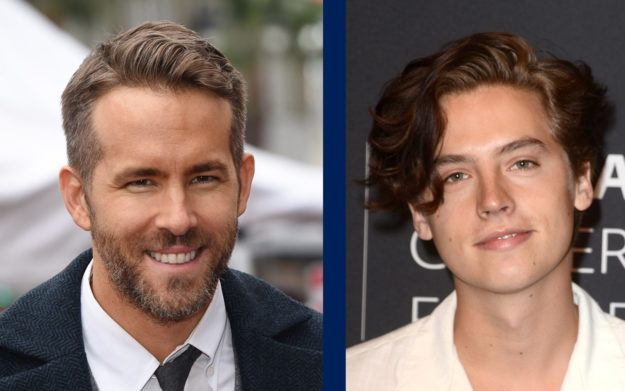 headshots actors ryan reynolds cole sprouse
