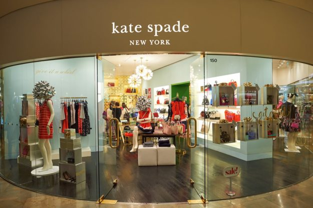 HONG KONG - DECEMBER 25, 2015: Kate Spade store in Hong Kong. Kate Spade New York is an American fashion design house founded as Kate Spade Handbags