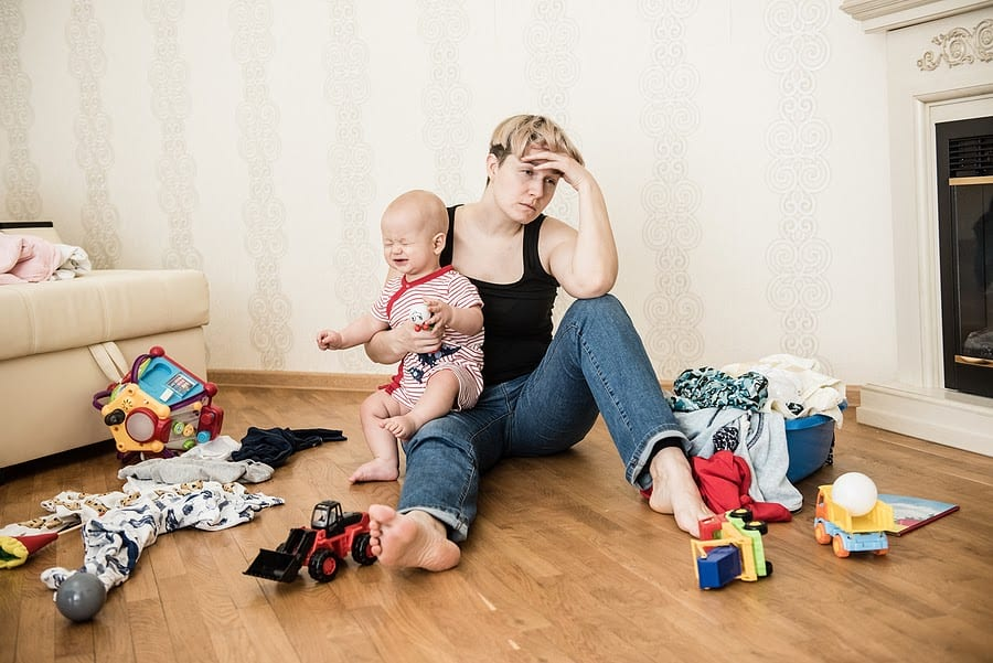 New Mom with Postpartum Depression