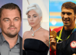 Leonardo DiCaprio, Lady Gaga, and Michael Phelps